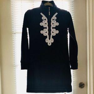 Lily Pulitzer Navy Blue Cotton Dress